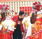 黄晓明参加完这个活动,就回去陪baby生孩子了!