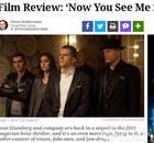 《惊天魔盗团2》北美口碑出炉 被评酷炫超过第一部