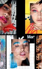美宝莲纽约赞助2018春夏纽约时装周 打造魅力妆容