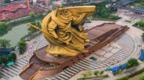 """四問荊州巨型關公像搬遷:若搬移需1.5億,是""""用浪費制止浪費""""?"""