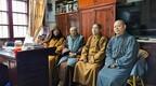 道慈大和尚一行赴宁波天童禅寺探望修祥老和尚
