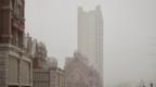 北京沙塵入夜后將明顯減弱 29日下午或現沙塵回流