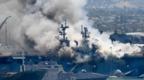维修费超25亿美元!烧了准航母的美国水兵被美军提出指控