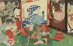"""中元节 看日本浮世绘中的灵怪""""异世界""""(图)"""