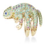 这款变色龙戒指也太可爱了吧!