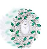 长青的植物灵感 由彩色宝石构成的缤纷自然界