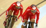 零的突破!中国场地自行车女团摘金