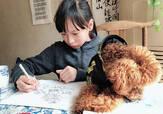 成都一小学生手绘72幅熊猫漫画:让更多人了解四川方言