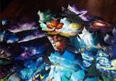 19岁的天才少女画家,在一片树叶上造出令人震撼的梦幻世界!