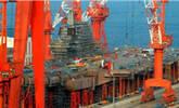 中国首艘航母将竣工 第三艘也在建造