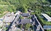 无人机视角下的终南山古观音禅寺