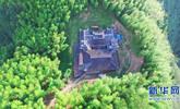 无人机意外发现一座千年古寺