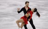 中国花滑组合强势出击冰舞赛