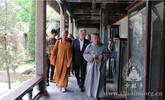 乌克兰前总统尤先科参访少林寺