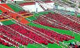实拍:2000多名僧人辩经现场