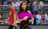 篮球宝贝热舞助威中国男篮