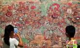 毗卢寺壁画艺术展亮相河北博物院