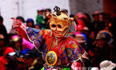 """为百姓驱邪祈福!西藏坚耶寺僧众""""跳神"""""""