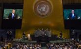 特朗普在联合国大会上发言|组图