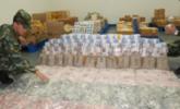 深圳警察查获近4吨走私外币|组图