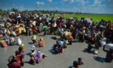 大量难民涌入孟加拉国|组图