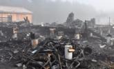 法国房屋烧成废墟 一对夫妇两名儿童遇难