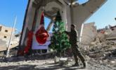 叙利亚教堂的圣诞