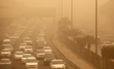 沙尘暴侵袭下的科威特
