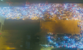 上万辆车滞留的海南夜晚