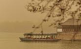 沙尘暴中的颐和园 自带宋画滤镜