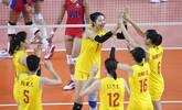 中国女排3-0完胜菲律宾挺进半决赛
