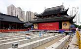 上海玉佛寺大殿7天2夜完成行走目标
