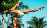 美国女孩疯狂健身被赞女超人 曾瘫痪3月