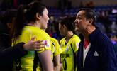 突发!王一梅与教练赛后起冲突