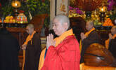 南普陀寺新春普佛法会 则悟大和尚亲自主法