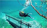 奇葩水下公园,每年露出水面三个月