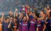 巴萨逆转夺西超杯第13冠