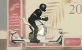 迪拜警方骑飞行摩托巡逻|组图
