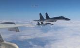 """空军发布战机编队""""绕岛巡航""""照片"""