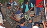 印度:豹子闯进托儿所 遭合力围捕
