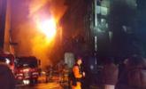 韩国一运动中心突发大火 已29死29伤