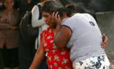墨西哥直升机坠机 家属哀悼逝者