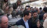 """叙利亚总统阿萨德""""自驾""""赴前线画面"""