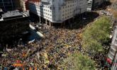 西班牙民众大规模游行现场
