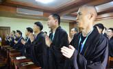 87位高管精英东林寺体验佛门生活