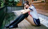 腿长110公分!台湾美女红到了日本
