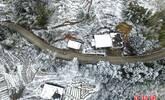 闽侯真的下雪了!雪峰寺一夜穿越千年