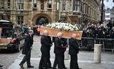 霍金葬礼举行 他们都来了