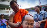 泰国清迈男孩集体