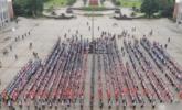 """湖北1200名学生上""""吃苦课"""" 丨组图"""